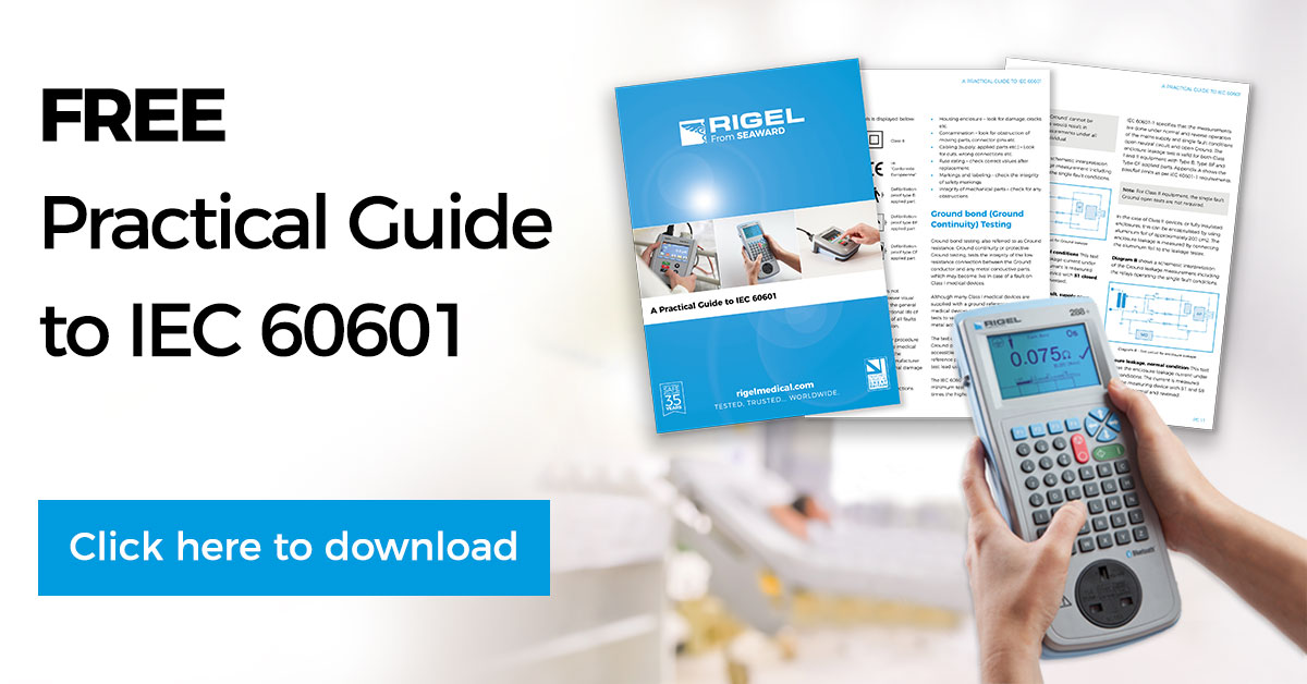 Download Your Free Guide to IEC 60601 Today | Rigel Medical