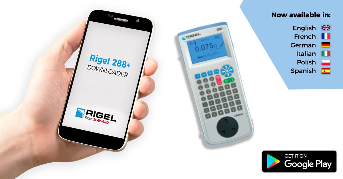 Rigel 288+ App