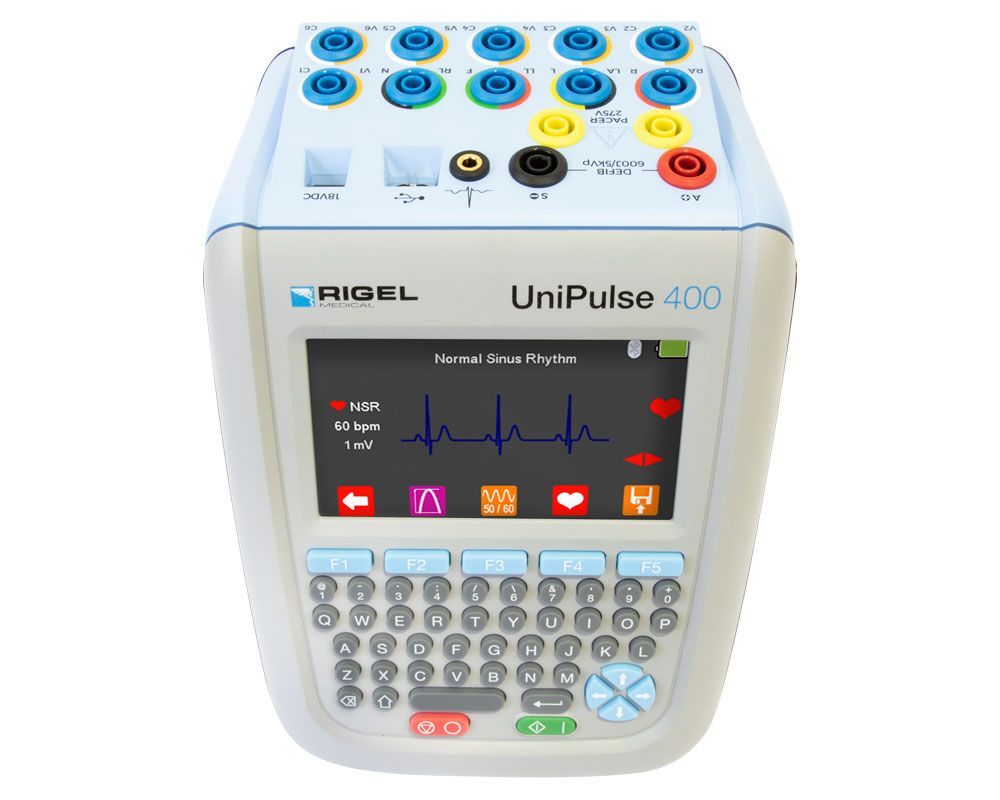 UniPulse 400 Defibrillator Analyzer Top Down