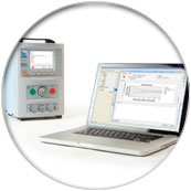 Rigel Multi-Flo infusion Pump Analyser - Control multiple Multi-Flo analyzers on a PC