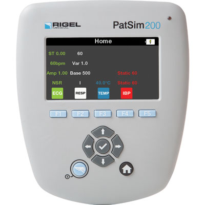 PatSim200 patient simulator from Rigel Medical