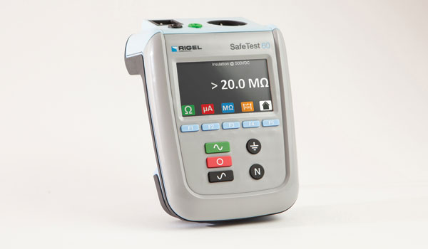 The Rigel SafeTest 60 Electrical Safety Analyzer