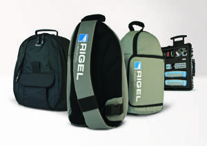 New Rigel Carry Case and Back Pack Solutions