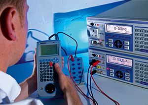 On-site calibration service